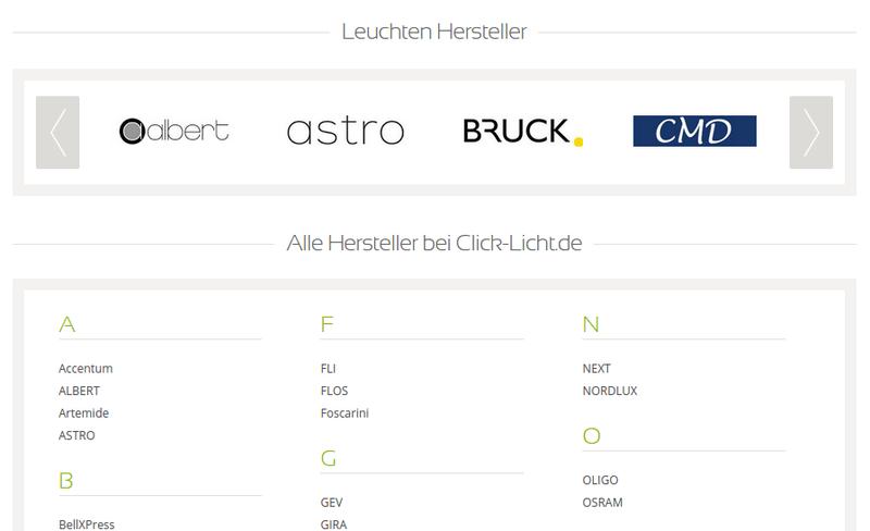 Unterschiedliche Vendorboxen bei click-licht.de