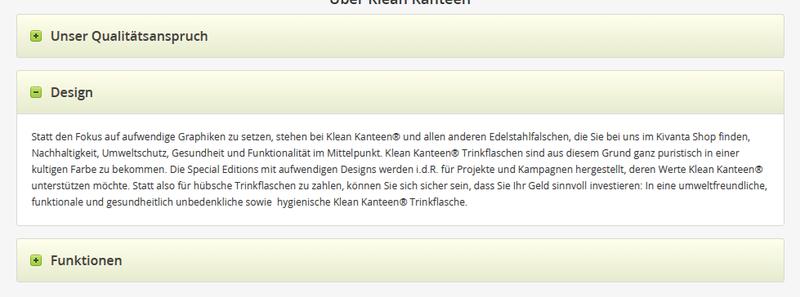 Accordeon Drop auf kivanta.de