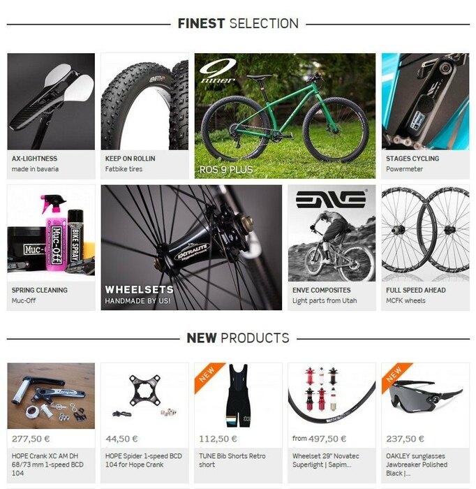 FlexLayout r2-bike.com