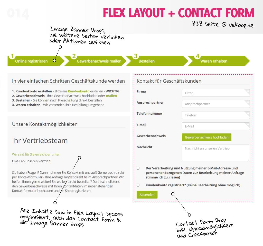 Let's Drop #014 - B2B Seite @ vekoop.de