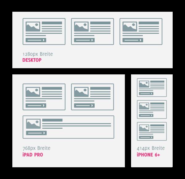 News Box Items bei einer Zielbreite von 350 Pixel