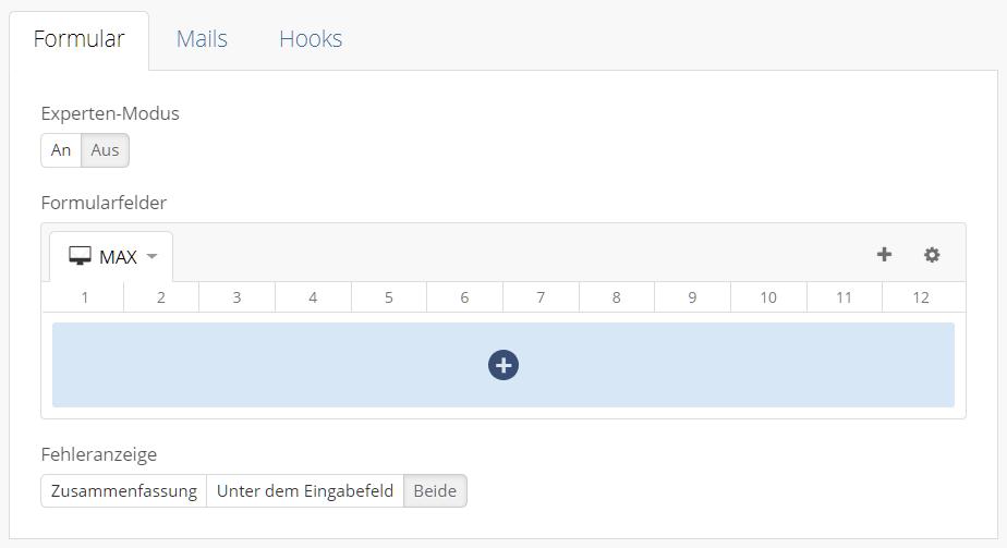 Contact Form Drop Formular Grid