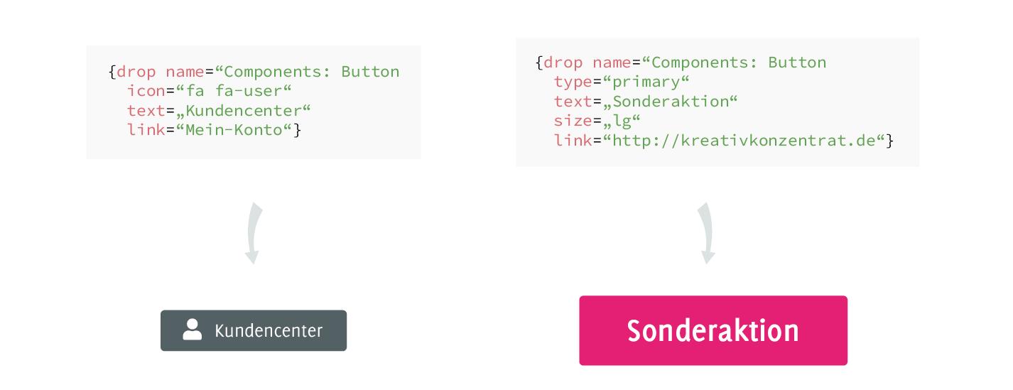 Button Komponente